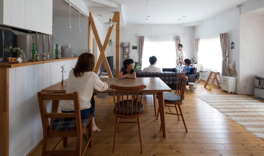 築25年の戸建てを3世代がにぎやかに 快適に暮らせる住まいへとリノベーション