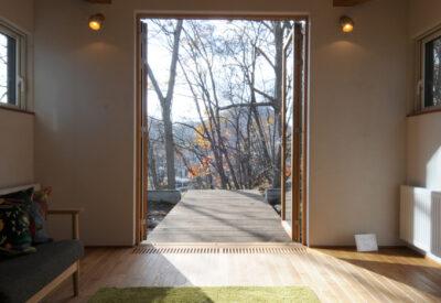 【札幌】2間モジュール総2階+平屋に暮らす「雑木林と語らういえ」の画像